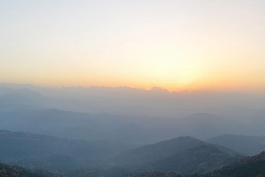 Nagarkot Day Tour for the best Sunrise with Langtang Mountain Range