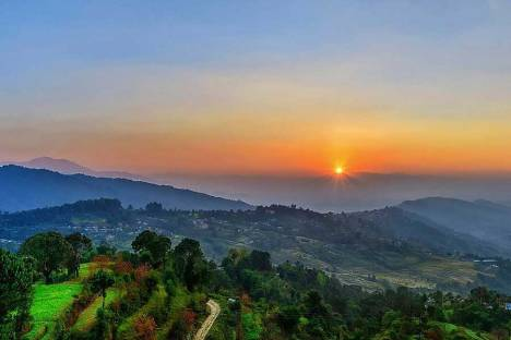 Sunrise from Sarangkot