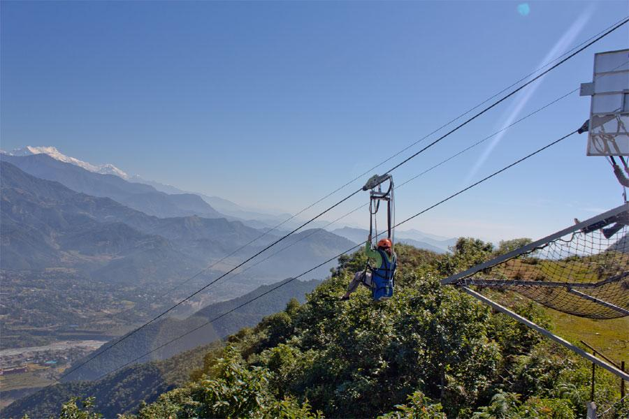World's Longest, Tallest Zip line