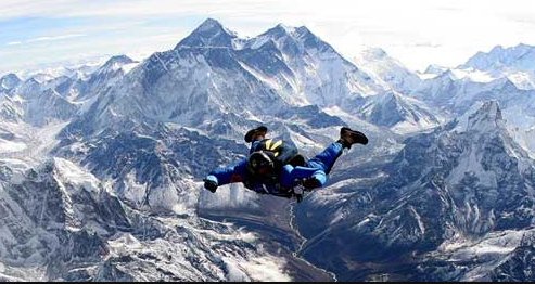 Everest Sky diving-Himalayan adventures in Nepal