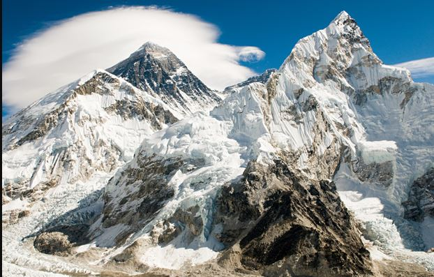 Height of the Mount Everest