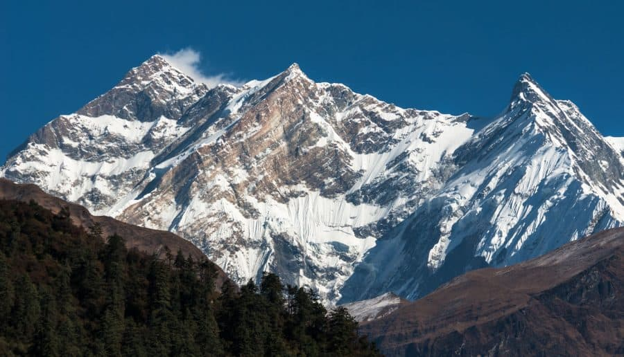Annapurana-Himalayan mountains