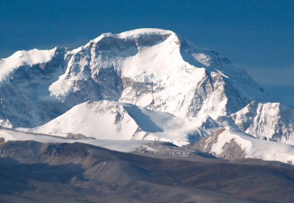 Mt. Makalu _Himalayan Mountains