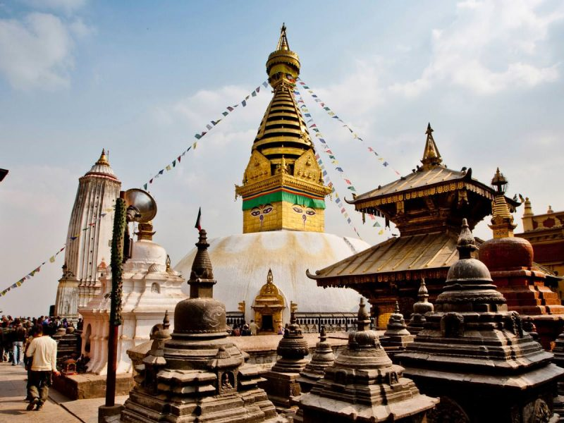 Boudhanath-Buddhist temple of Nepal
