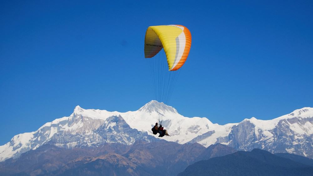 The amazing experience of Paragliding in Nepal