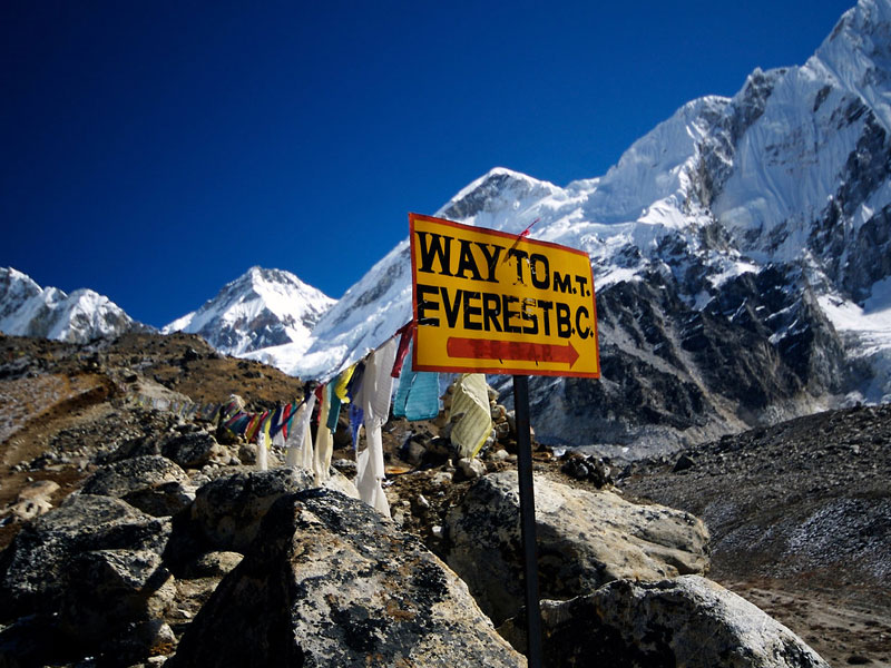 Everest Base Camp Trek October